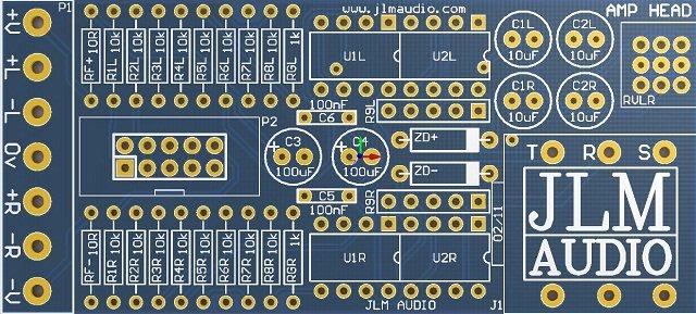 AMP HEAD PCB 640